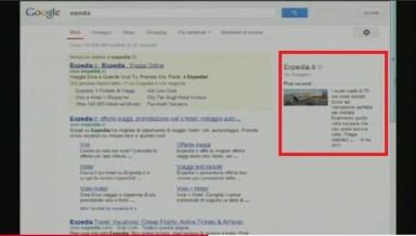 Box Informazioni SERP Google