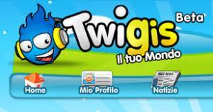 Twigis nuovo social per bambini