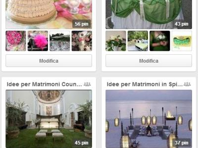 Pinterest per Matrimoni