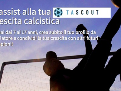 Tascout - Il social network per giovani calciatori