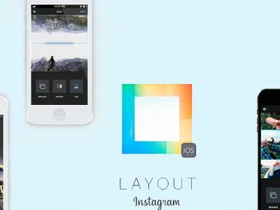 Instagram layout esempio