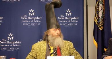 In New Hampshire, a man calling himself Vermin Supreme filed for the presidential primary