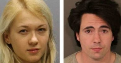 Marina Lonina (left) and Raymond Gates were charged in the alleged rape of a 17-year-old girl.PHOTO: FRANKLIN COUNTY SHERIFF'S OFFICE