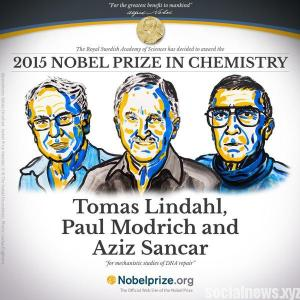 Three Share 2015 Nobel Prize in Chemistry