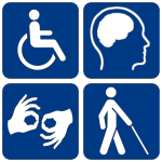 Disability symbols 16 150x150 The Fight for More Accessible Taxis Was Won In New York City