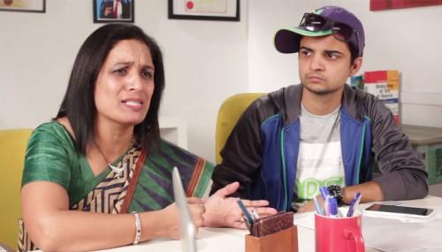 "Her son is suffering from a strange disease. The doctor says, ""Aapka beta chutiya hai"""