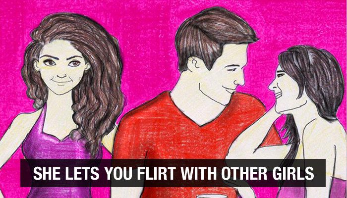 A Girl Lets You Flirt And Cooks For You Is The Characteristic Of An Adarsh Girlfriend