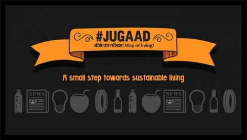 These 10 Posters Show How We Use 'Jugaad' In Our Daily Life To Recycle Waste Materials