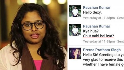 Facebook Removes Her Response To A Harasser Citing 'Nudity Content'. She Has A Message!
