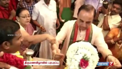 BJP Leader Dr. Subramanian Swamy Almost Got Married Again. Oops!
