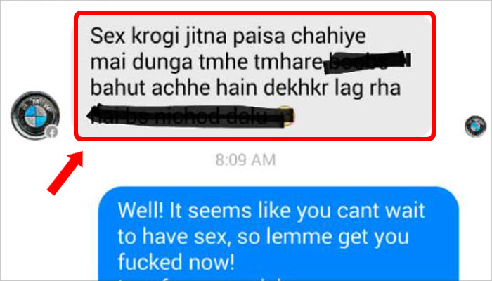 Are You a Virgin? How Much for Sex Tonight? Boy Messages on Facebook. Girl's Reply Is Killing