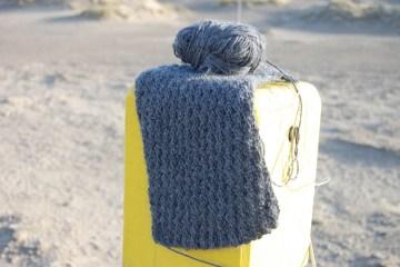 klassischer Schal stricken