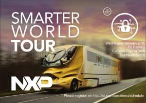 NXP Smarter World Tour Sophia