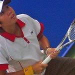 ソフトテニス – 新世代のヴィルトゥオーゾ 鄭竹玲のフォアハンド