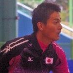 篠原秀典・小林幸司 完勝で日本先行、日本vs,台湾 第一ダブルス