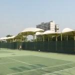 嘉義市港坪コート アジアソフトテニス選手権