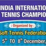1st India International Soft Tennis Championship at Ahmedabad