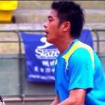 リウチャルン(劉家綸 台湾)のアタックストップ-ソフトテニス-ヴィルトゥオーゾ35