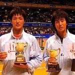 2010東京インドア第50回記念大会 男子準優勝 鹿島・中本