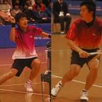 篠原・小林、逢野・海江田が優勝 2011東京インドア