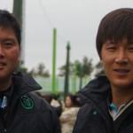 2010アジア競技大会 韓国代表 男子2 イヨン・チヨンミン