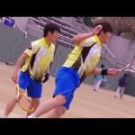 LEE/KIM vs. SAKAGUCHI/HINO [ASIA CUP2014 Men's Semi Final 2]