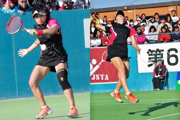 佐々木・大庭。全日本チャンピオンいや世界チャンピオン。この全日本インドアが最後の公式戦となる。