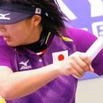 大金星!!初出場の横山。2013東アジア競技大会女子シングルス