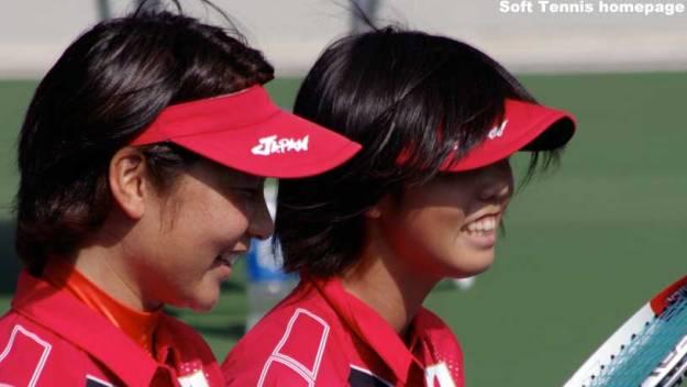 2014アジア競技大会での森田・山下。