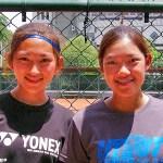 第八回 アジア選手権台湾代表 徐語彤・郭千綺