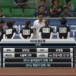 韓国大統領旗2016 NH BANK が二冠