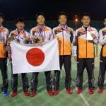 低迷が嘘のよう・・・男子ダブルス全対戦結果 第8回アジアソフトテニス選手権