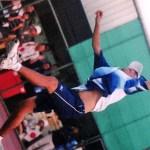 動画でみるソフトテニスの基本技術 趙士城のスマッシュ