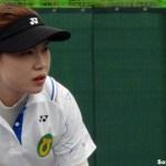 韓国代表選抜女子シングルス優勝 キムヨンヘ