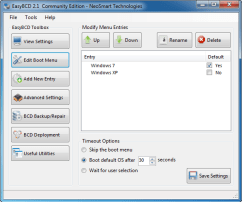 EasyBCD Community Edition EasyBCD Community Edition 2.2.0.182 Download Last Update