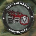 Patch Tonda SAM Standard - Fronte
