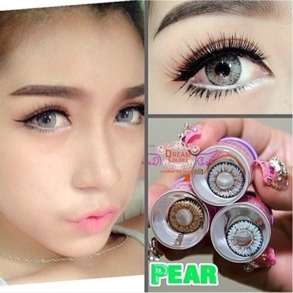 softlens dreamcolor dreamcon pear gray