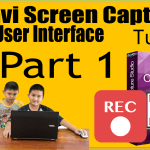 How To Use Movavi Screen Capture Studio 8 Basic User Interface Tutorial