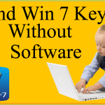 How To Find Windows 7 Product Key Without Software On Laptop, PC Lenovo, HP, Dell Any PC