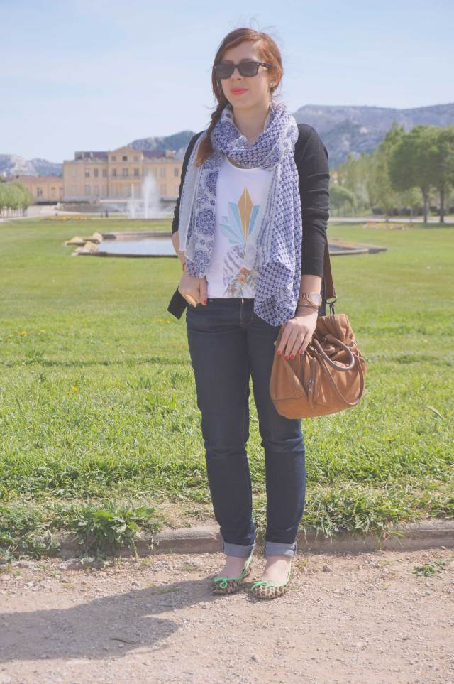 look casual girly