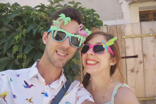 lunettes primark tropical