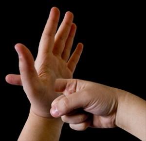 Fingerthrupalm
