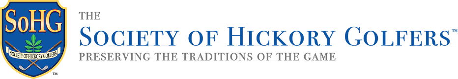 The Society of Hickory Golfers Logo