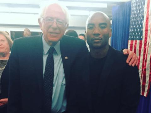 Bernie Sanders Charlamagne Tha God