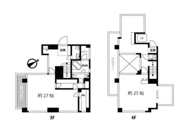 芝崎410ビル3F:4F-sohotokyo