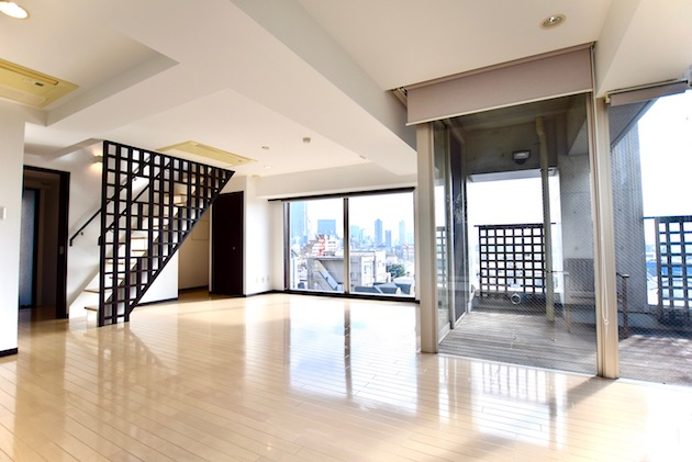 unimat hideaway_minamiaoyama-6F livingroom (11)