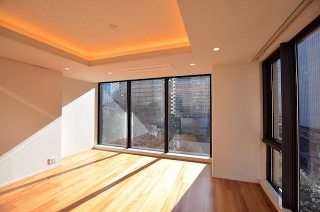 赤坂桜坂、高級分譲賃貸マンションをSOHO利用で