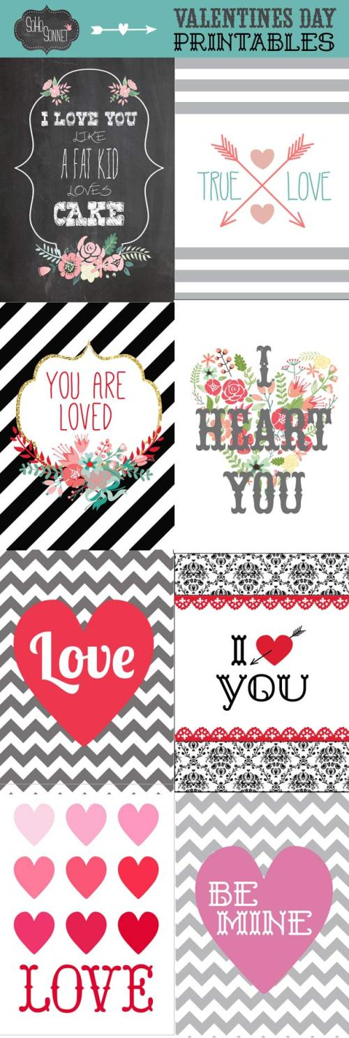 Medium Of Free Valentine Printables
