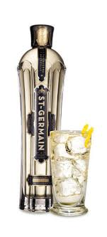 St Germain & Gin Cocktail