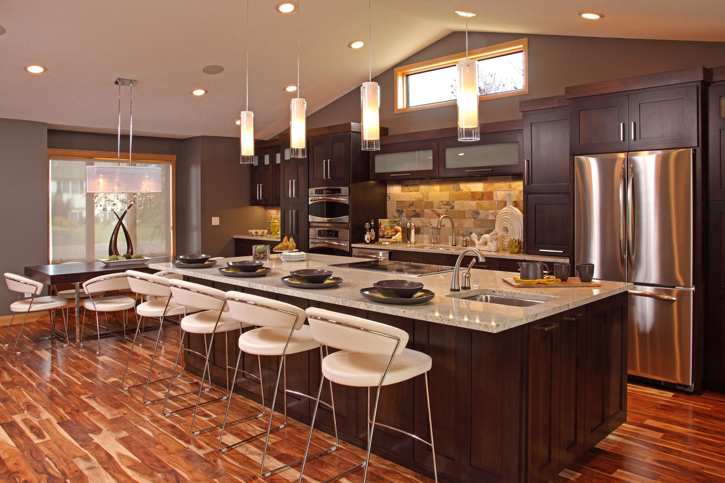 orange county kitchen designers colonial kitchen design Dark Kitchen Cabinets Backsplash Ideas Colonial